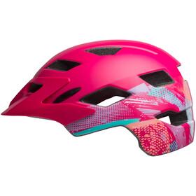 Bell Sidetrack Helmet Youth green ridgeline matte berry